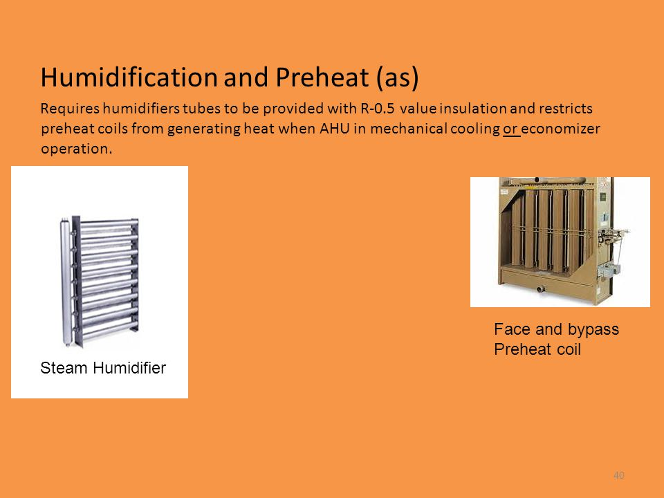 Humidification and Preheat (as)