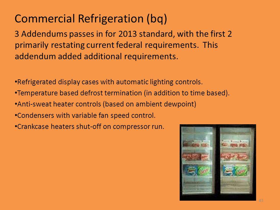 Commercial Refrigeration (bq)