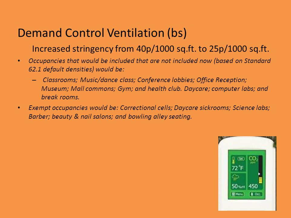 Demand Control Ventilation (bs)