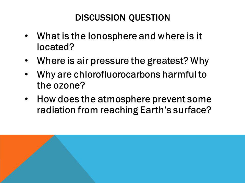 What is the Ionosphere and where is it located