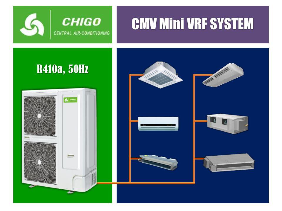 CMV Mini VRF SYSTEM R410a, 50Hz