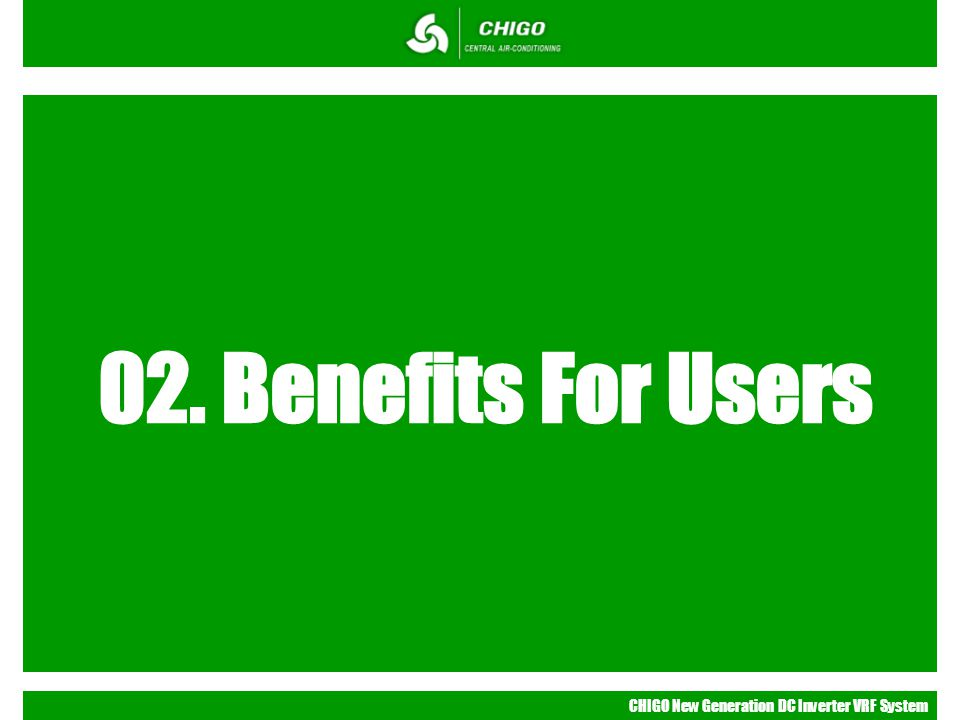 02. Benefits For Users
