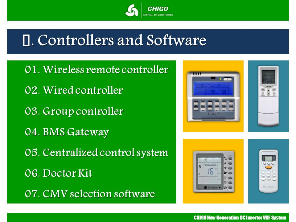 Ⅳ. Controllers and Software
