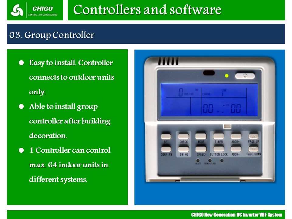 Controllers and software