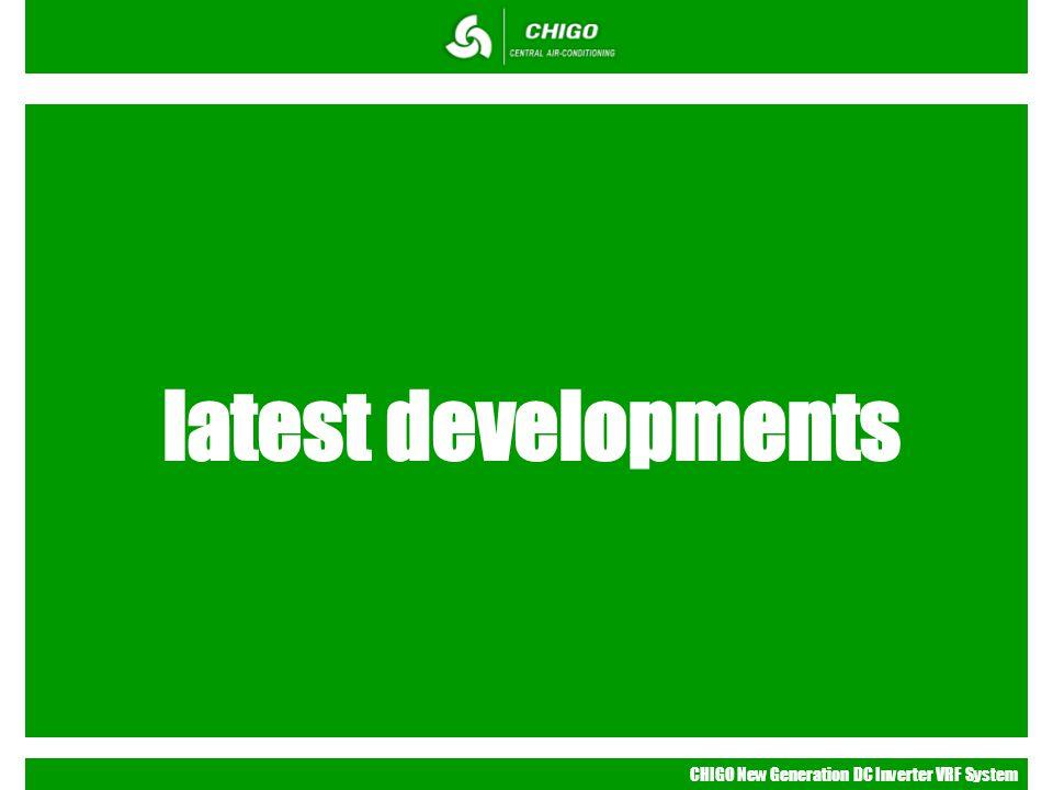 latest developments