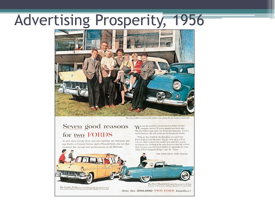 Advertising Prosperity, 1956