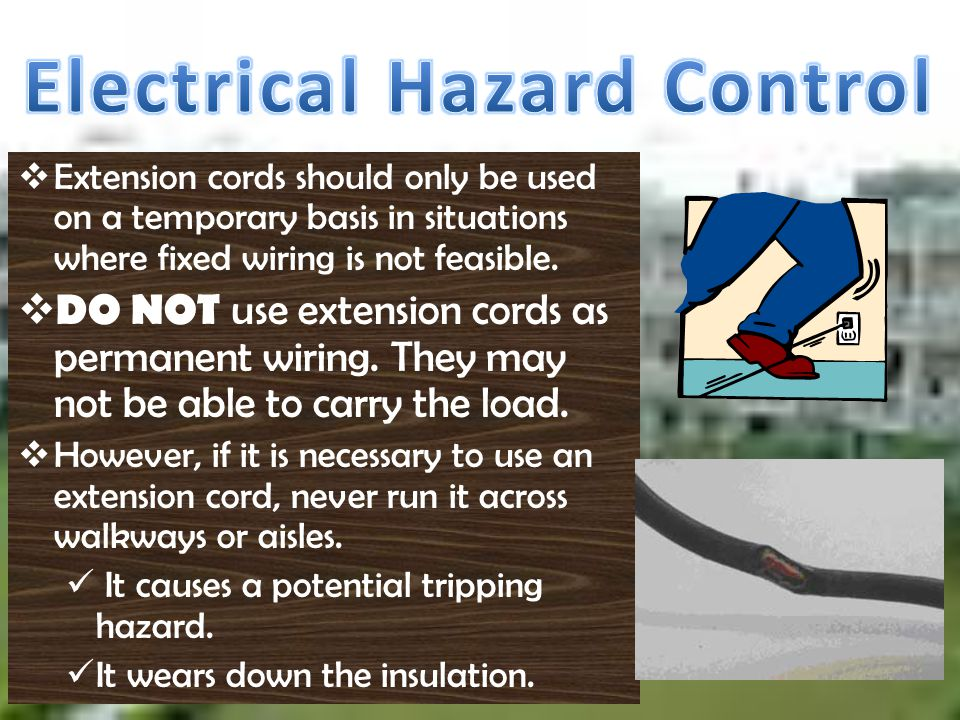 Electrical Hazard Control
