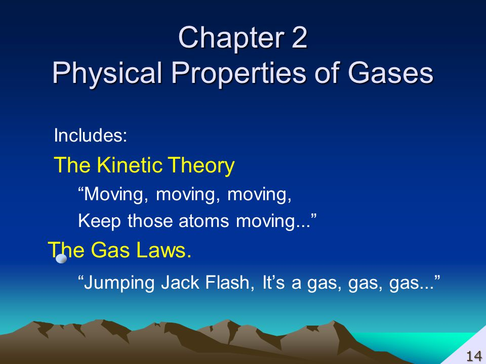 Chapter 2 Physical Properties of Gases