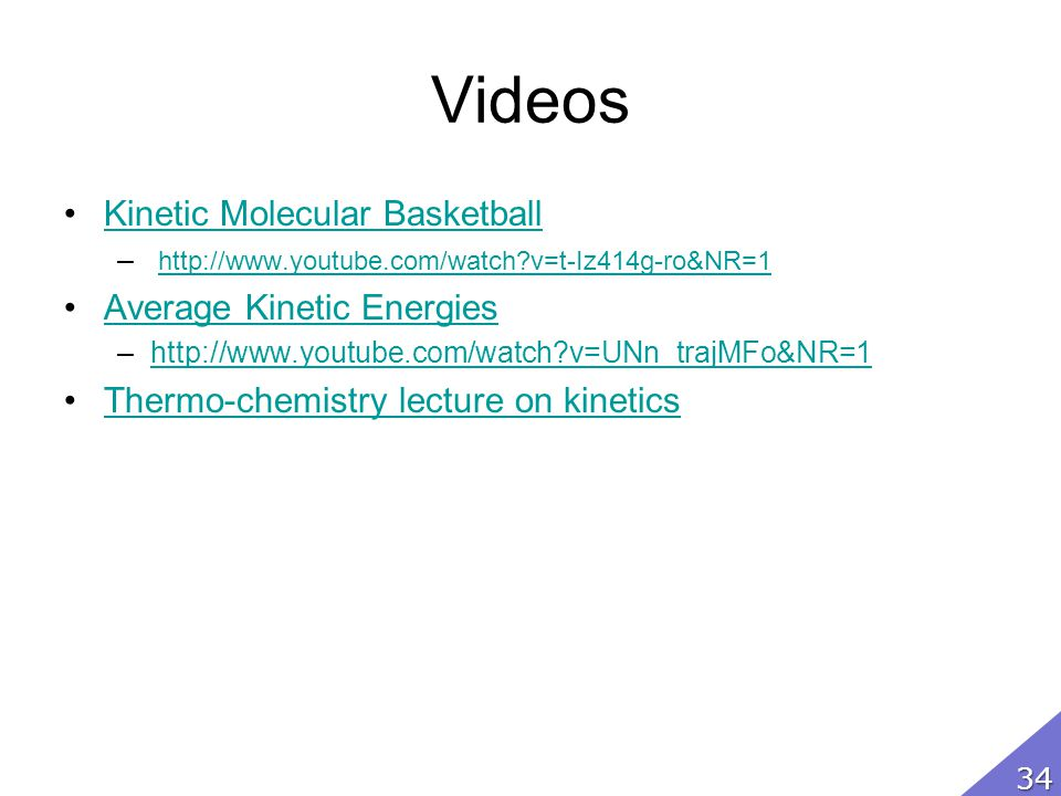 Videos Kinetic Molecular Basketball Average Kinetic Energies