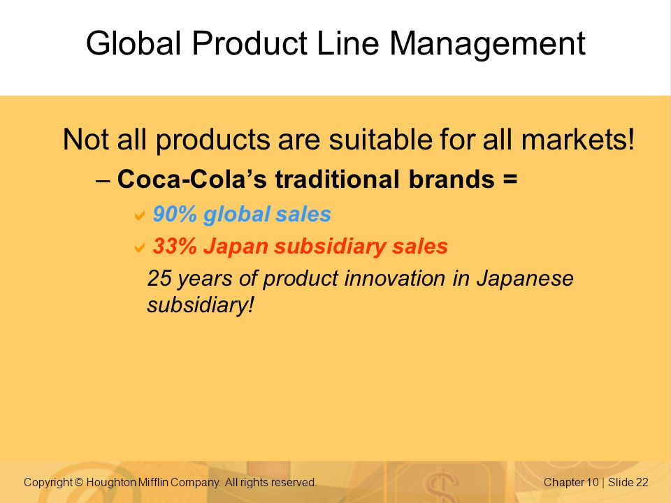 Global Product Line Management