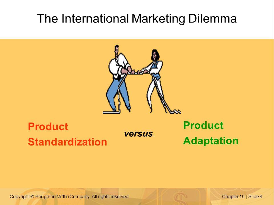 product standardization strategy