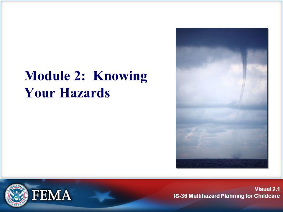 Module 2: Knowing Your Hazards