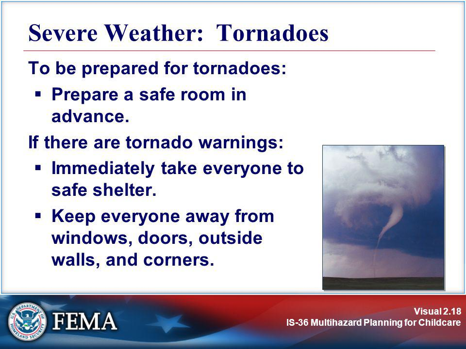 Severe Weather: Tornadoes