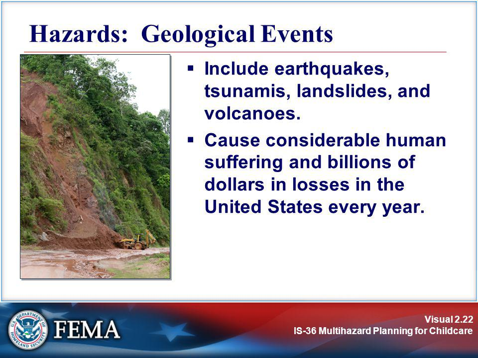 Hazards: Geological Events