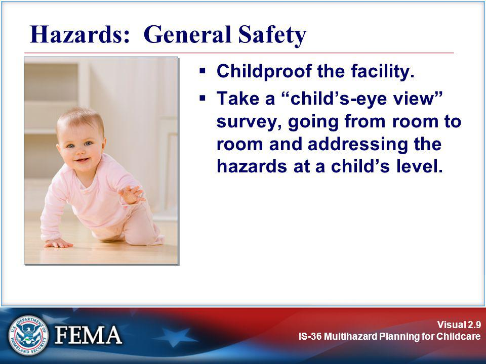 Hazards: General Safety