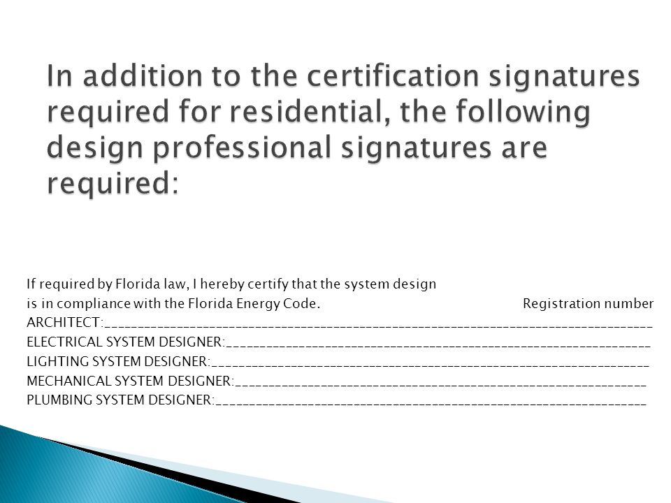 FLORIDA BUILDING CODE, Energy Conservation - ppt download