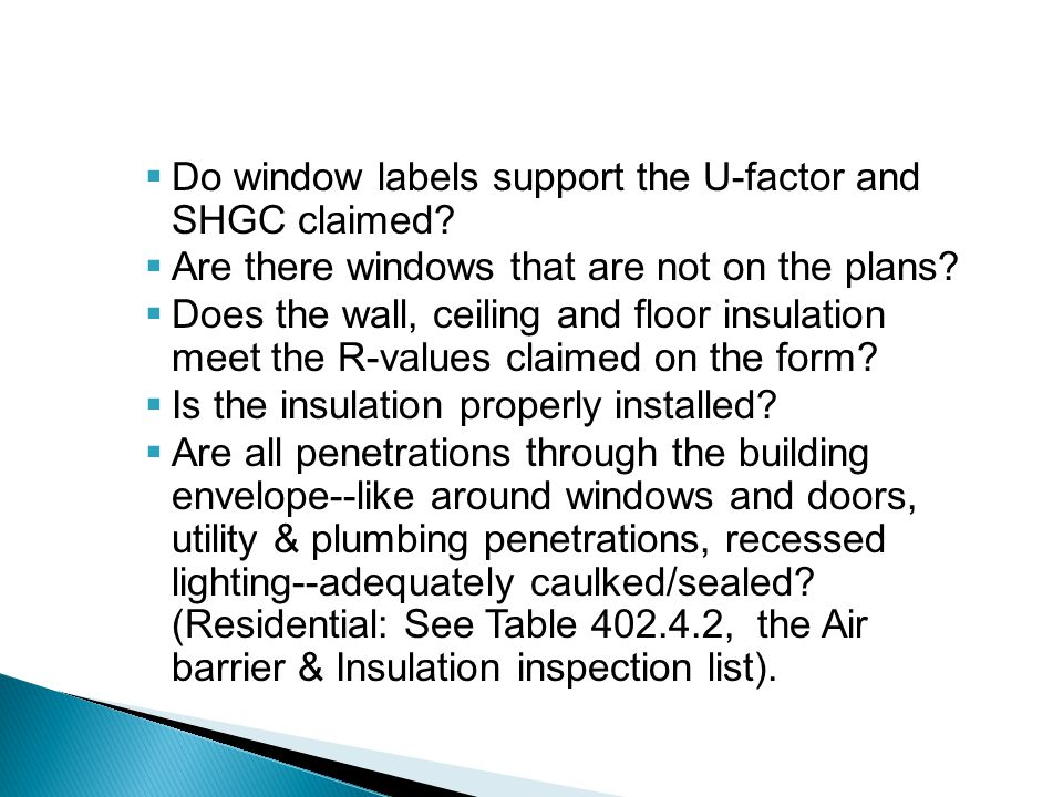 Do window labels support the U-factor and SHGC claimed