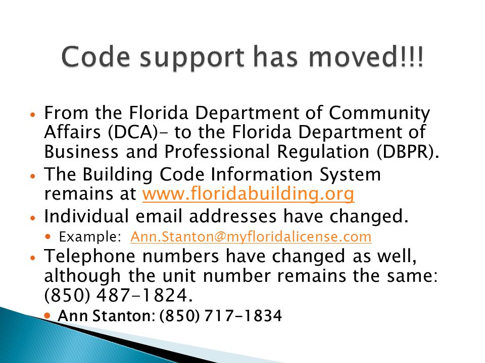 Code support has moved!!!