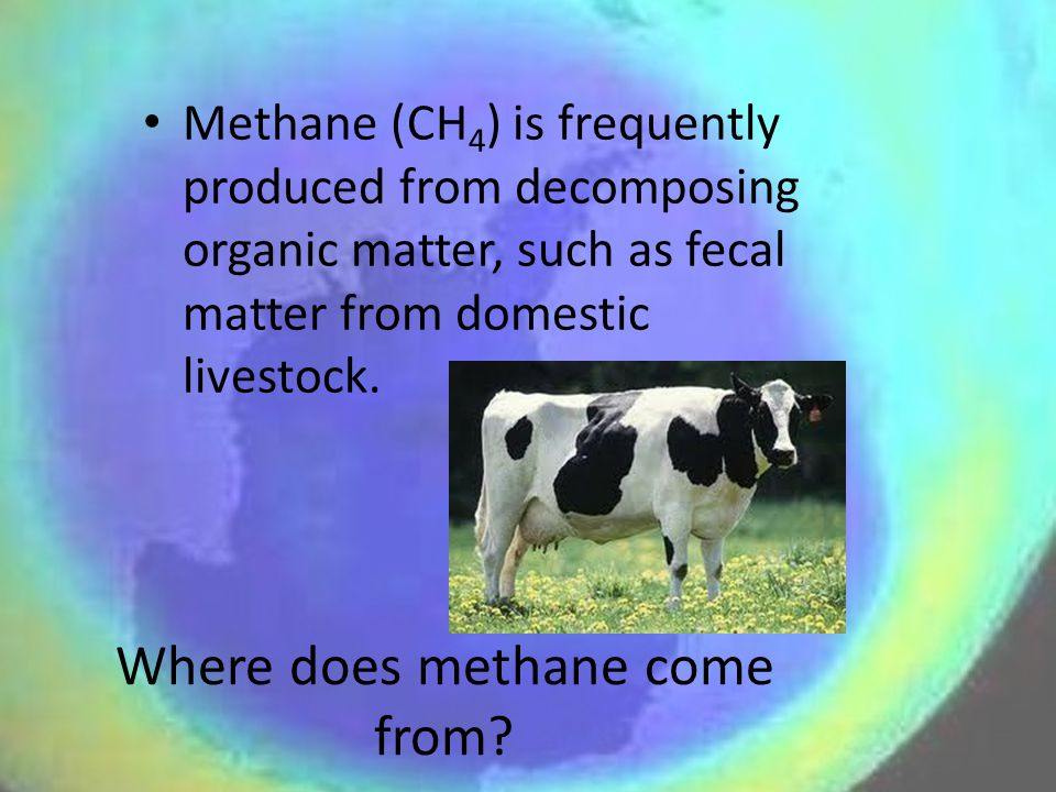 Where does methane come from