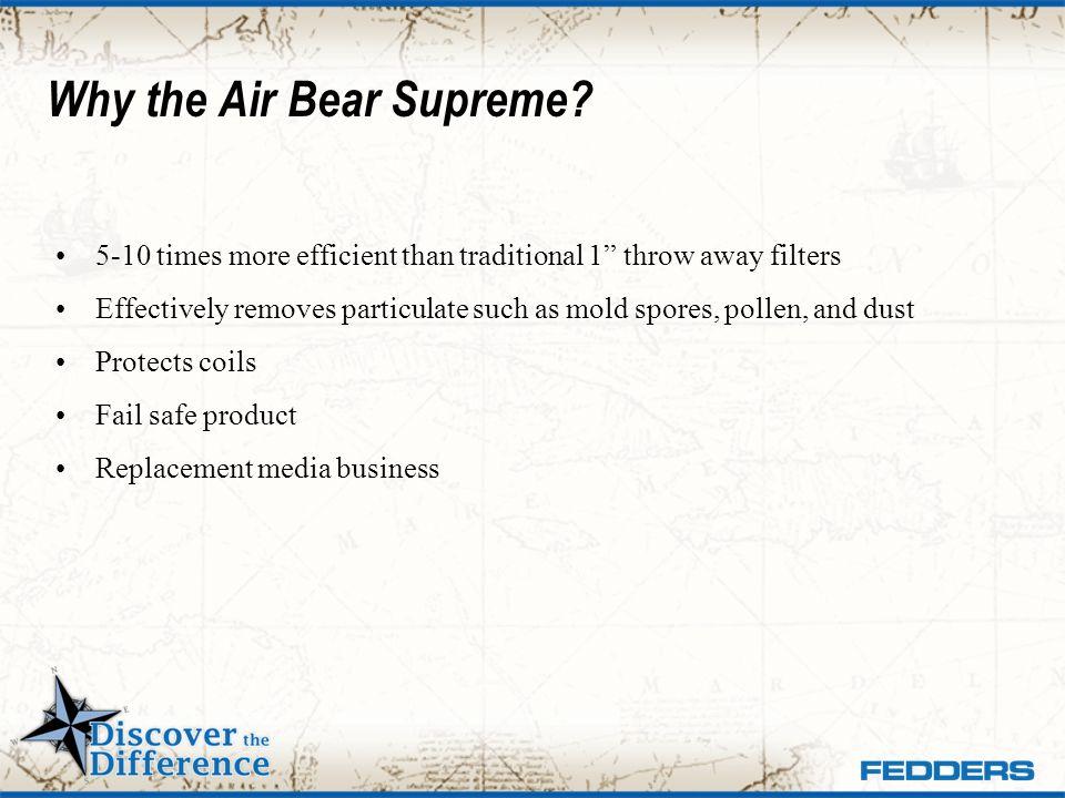 Why the Air Bear Supreme