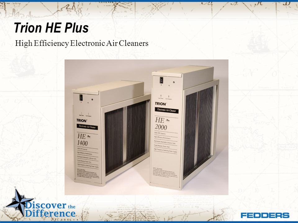 Trion HE Plus High Efficiency Electronic Air Cleaners