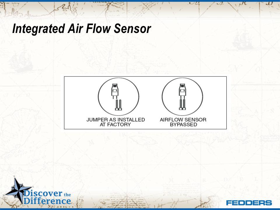 Integrated Air Flow Sensor