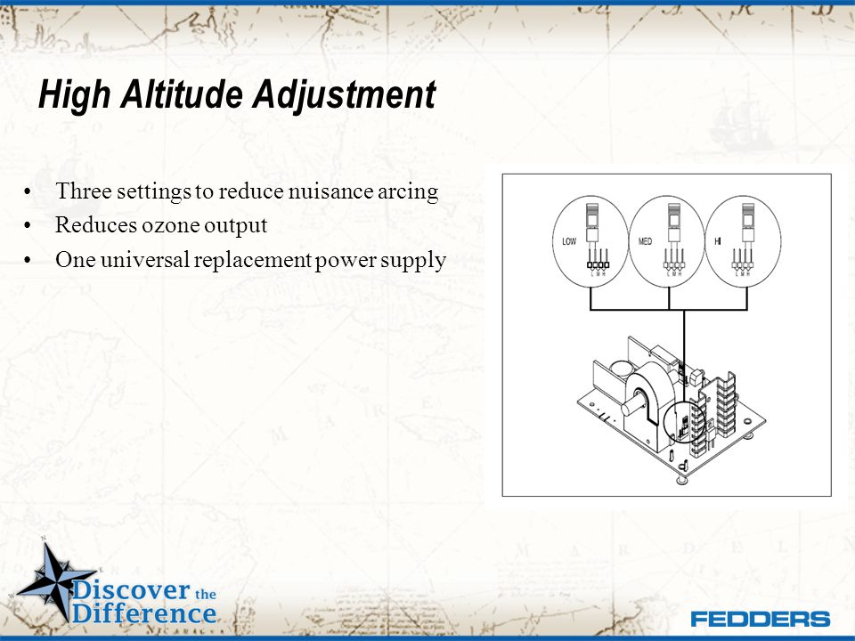 High Altitude Adjustment