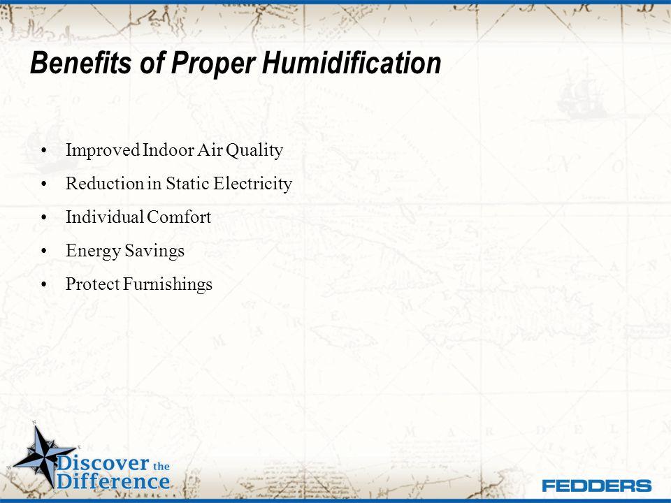 Benefits of Proper Humidification