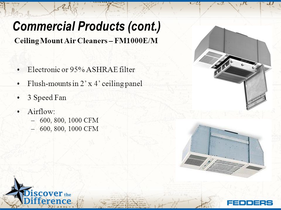 Commercial Products (cont.)