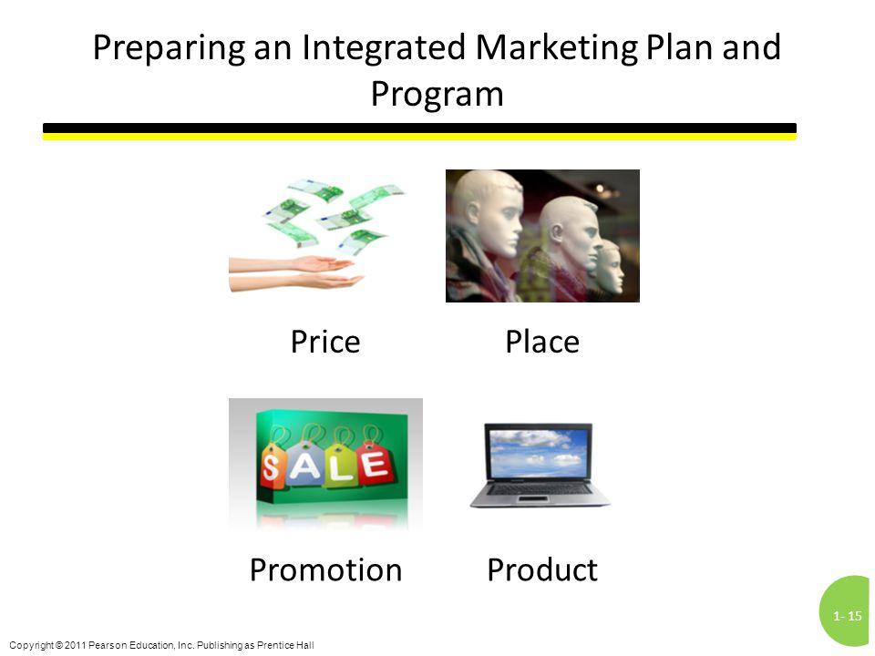 Preparing an Integrated Marketing Plan and Program