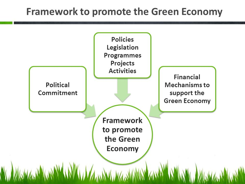 Framework to promote the Green Economy