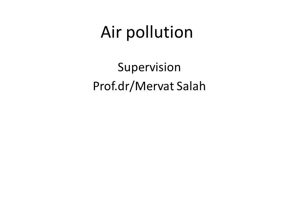 Supervision Prof.dr/Mervat Salah