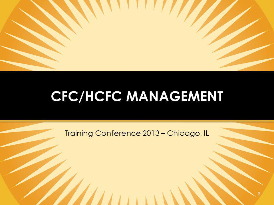 Training Conference 2013 – Chicago, IL