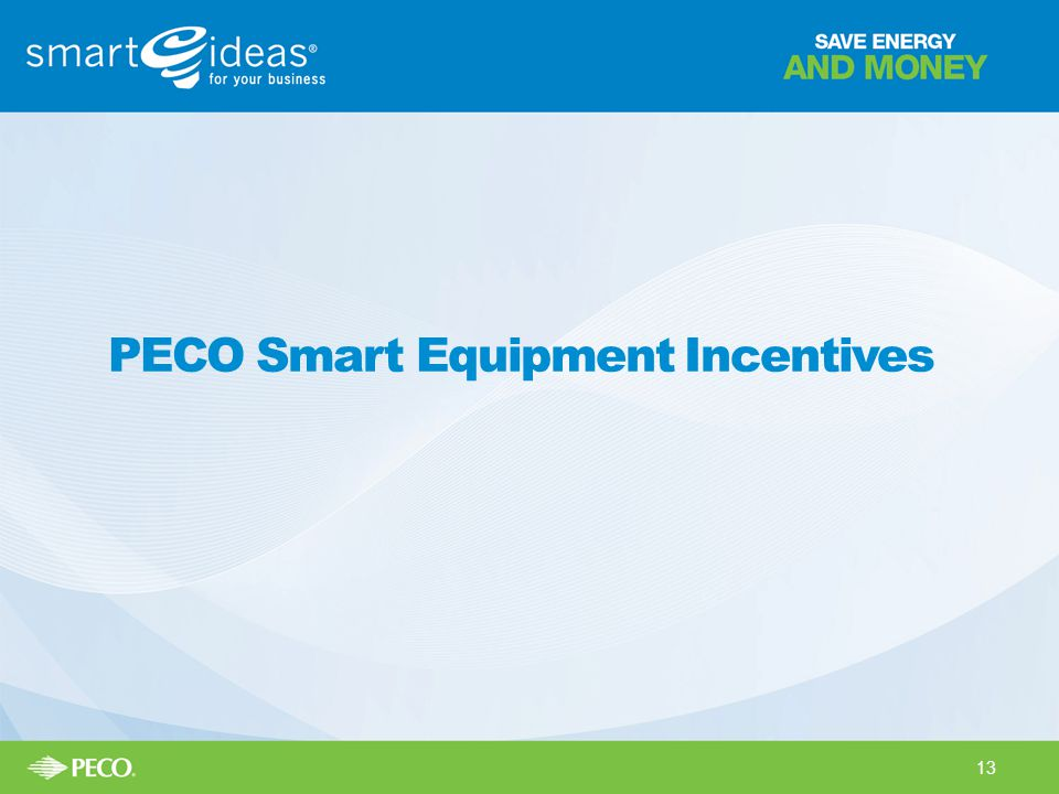 PECO Smart Equipment Incentives