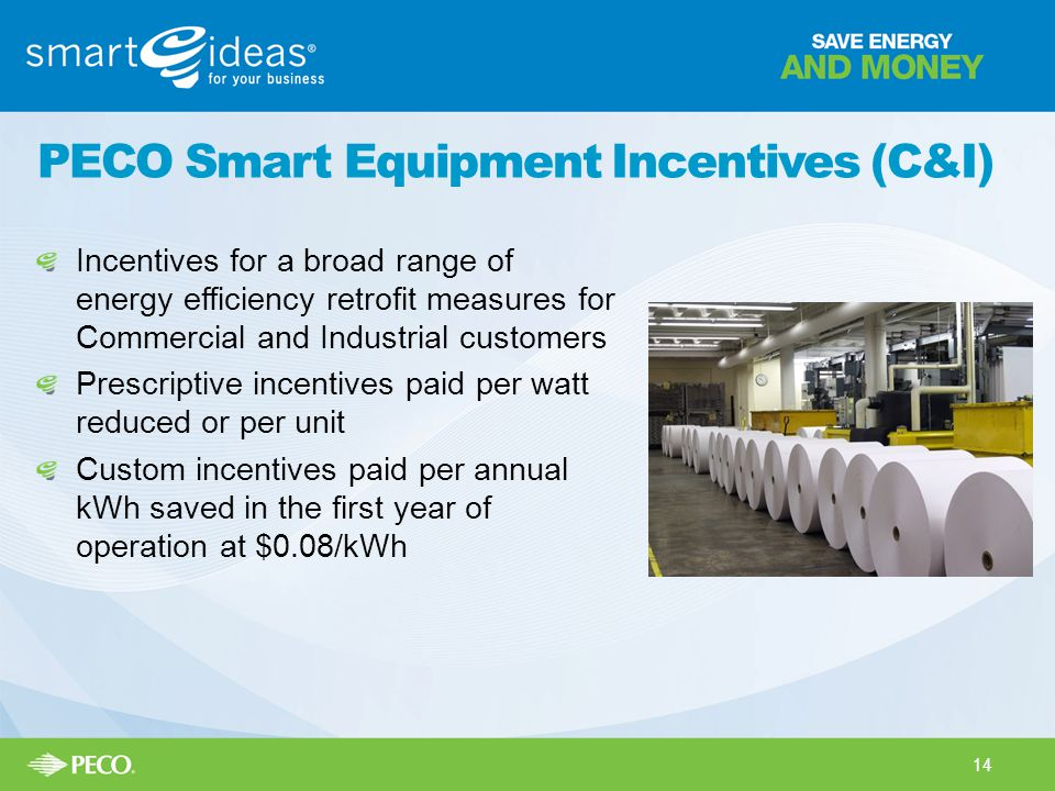 PECO Smart Equipment Incentives (C&I)