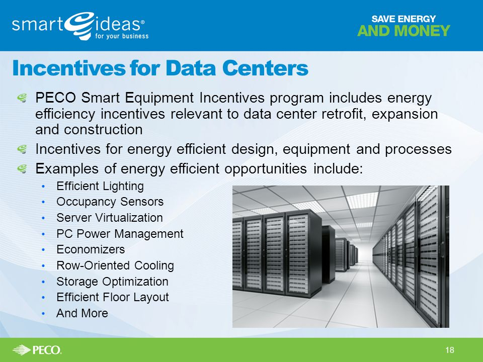 Incentives for Data Centers
