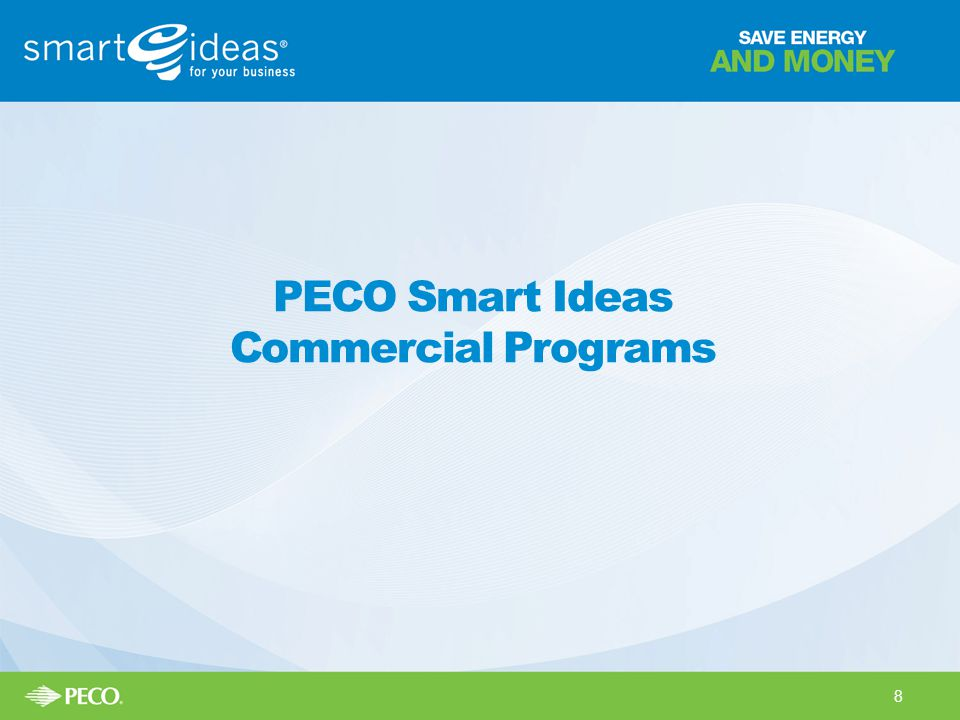 PECO Smart Ideas Commercial Programs