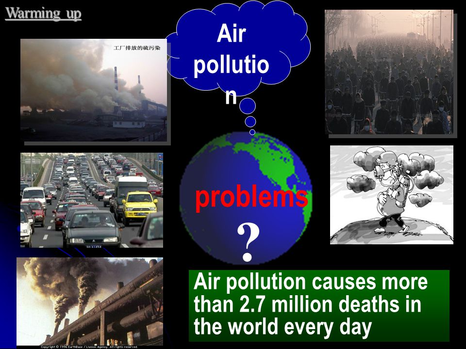 problems Air pollution