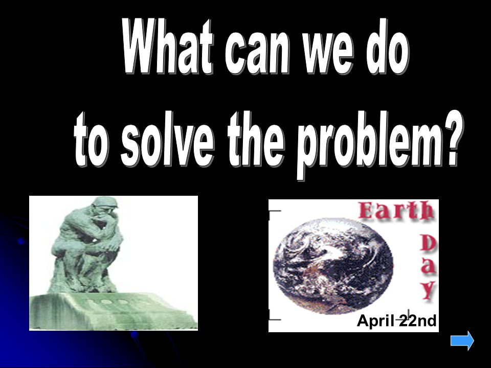 What can we do to solve the problem