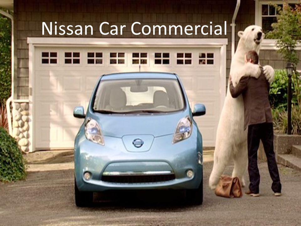 Nissan Car Commercial