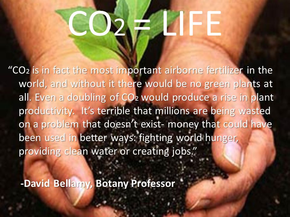 CO2 = LIFE