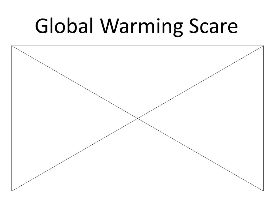 Global Warming Scare