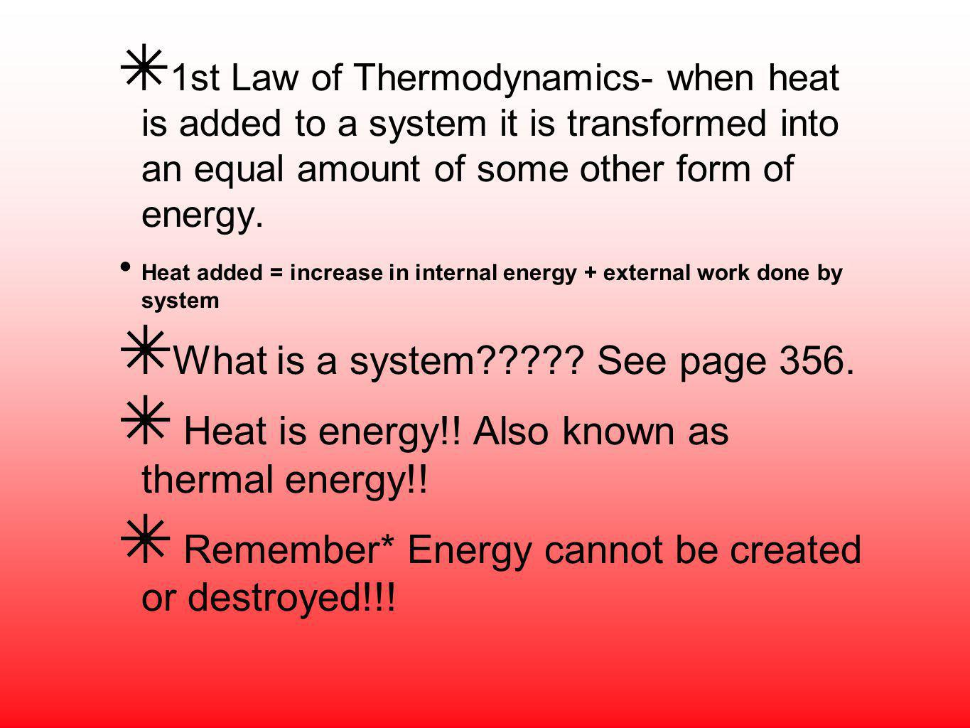 What is a system See page 356.