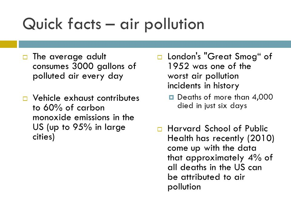 Where does carbon monoxide pollution come from