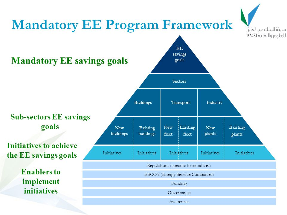 Mandatory EE Program Framework