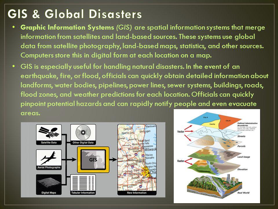 GIS & Global Disasters