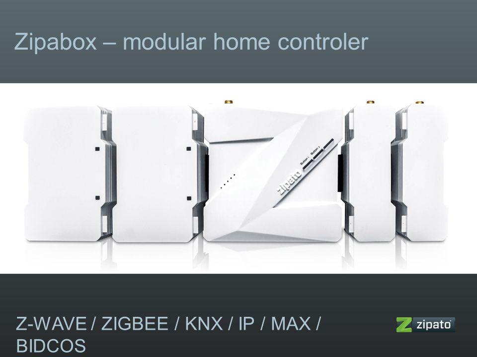 Zipabox – modular home controler