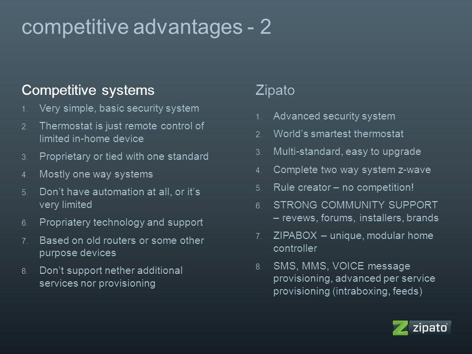 competitive advantages - 2