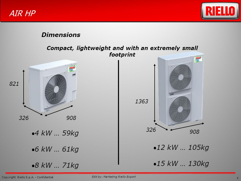 Compact, lightweight and with an extremely small footprint