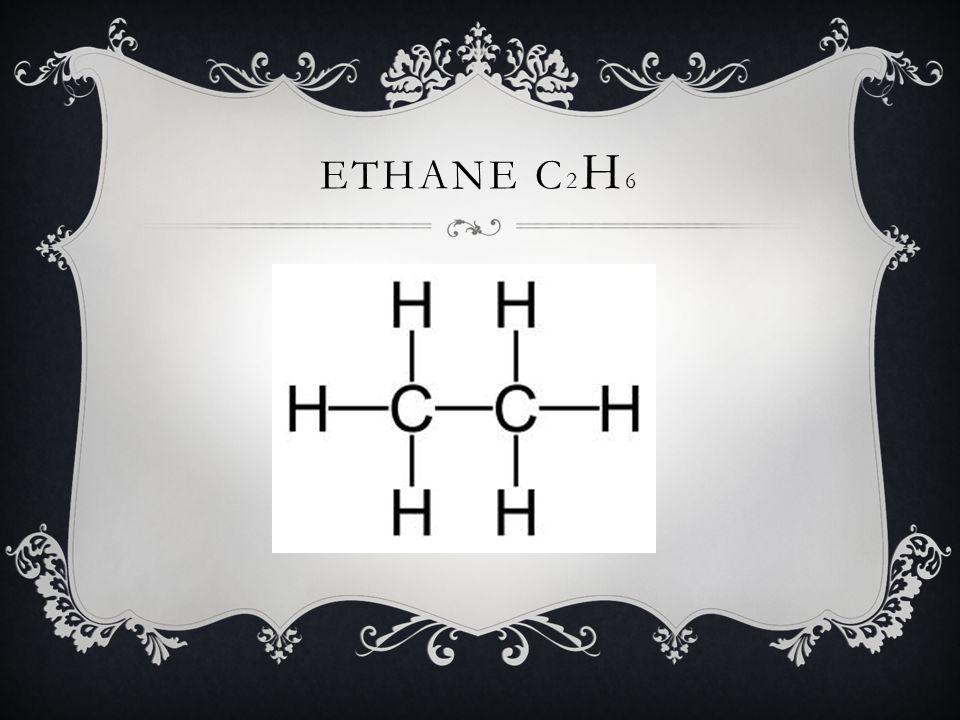 Ethane C2H6